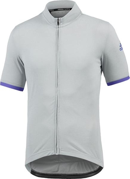 Adidas Supernova Climachill Jersey chill clear grey melange/night flash