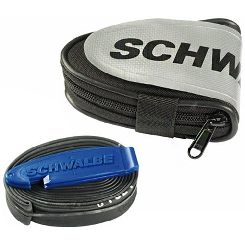 Schwalbe Tube Bag Race 28 Zoll Schlauch with Tyre Levers