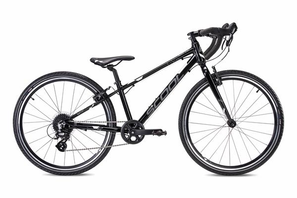 S´COOL liXe gravel 26 Aluminium 9-Gang black/white matt