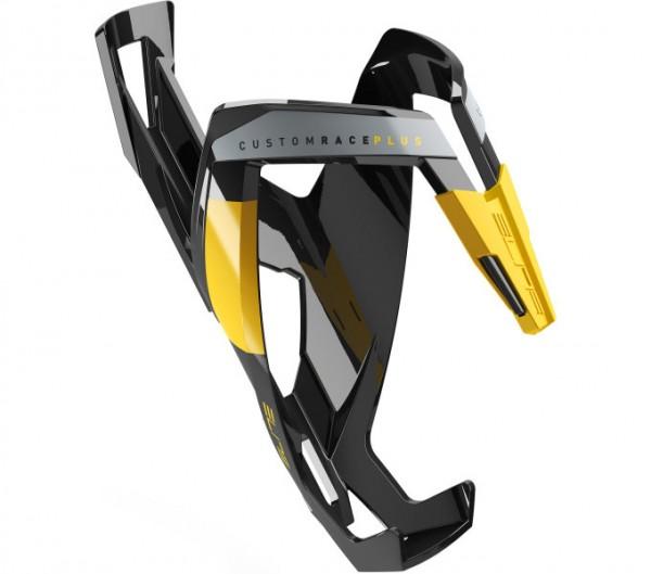 Elite Custom Race Plus Flaschenhalter schwarz/gelb glänzend