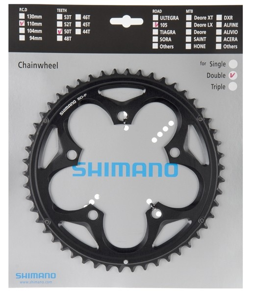 Shimano 105 FC-5750 10-speed compact-chainring 34 / 50