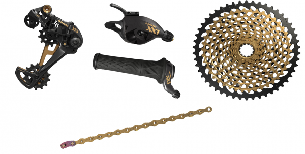 SRAM Upgrade Kit XX1 Eagle 1x12-speed - black/gold
