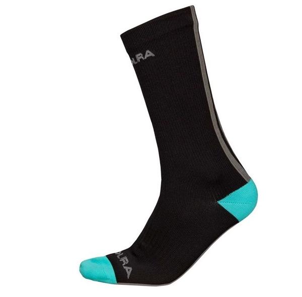 Endura Hummvee wasserdichte Socken lang schwarz
