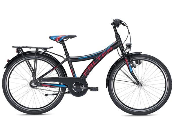 Falter FX 403 24 Zoll Y schwarz/rot Kinderrad %