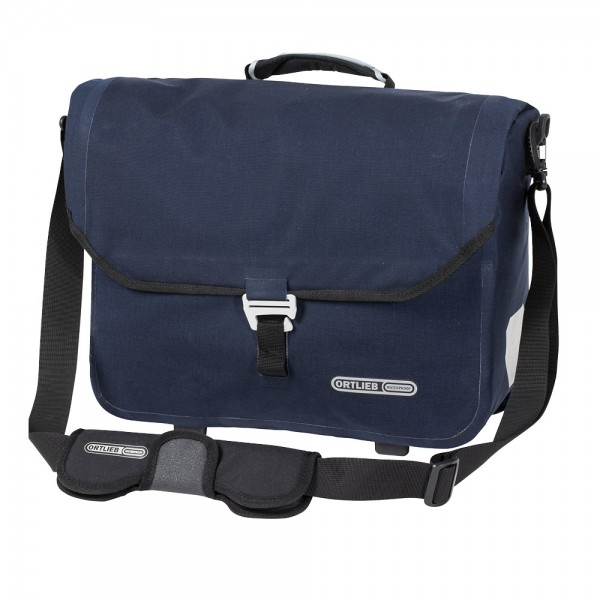 Ortlieb Downtown Two QL3.1 Briefcase steel blue PVC-free