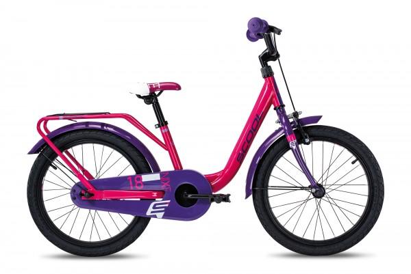 S´COOL niXe 18 Stahl 1-Gang pink/violet