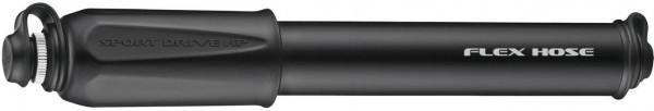 Lezyne mini pump CNC Sport Drive HP M (21,6) cm / black-glossy