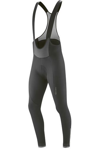 Gonso Sitivo Tight Bib Thermohose Sitzpolster Rot