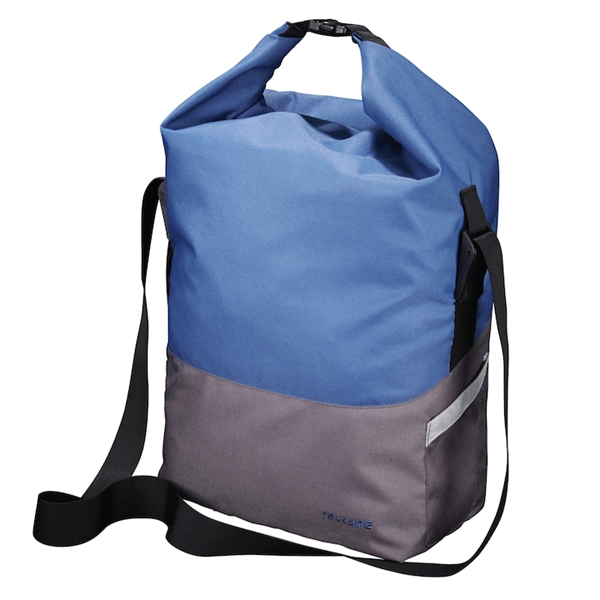 Racktime single bag Liva berry blue/stone grey