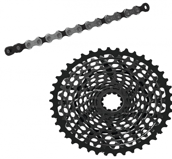 Sram chain and cassette kit - X1 11-speed