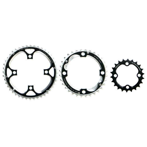 Fun Works N-Light Chainwheel for MTB 3X Crank 104/64