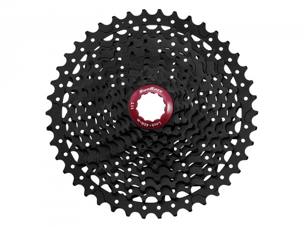 Sunrace cassette CSMX3 10-speed 11-40 black