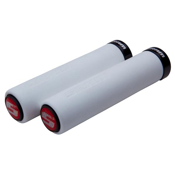 SRAM Lockring Foam Grips white / black