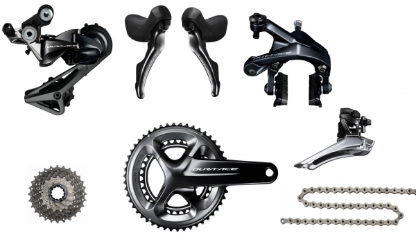Shimano Dura Ace Groupset 9100 2x11-Speed