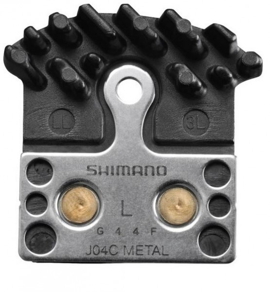 Shimano Disc Brake Pad Ice-Tech J04C Metall with cooling fins