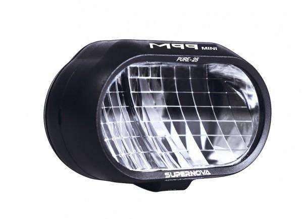 Supernova Fahrradbeleuchtung M99 Mini Pure-25 LED Scheinwerfer für E Bike mit StVZO-Zulassung