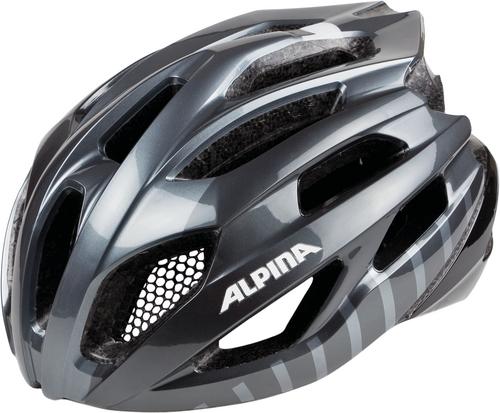 Alpina Fedaia Helm titanium-black