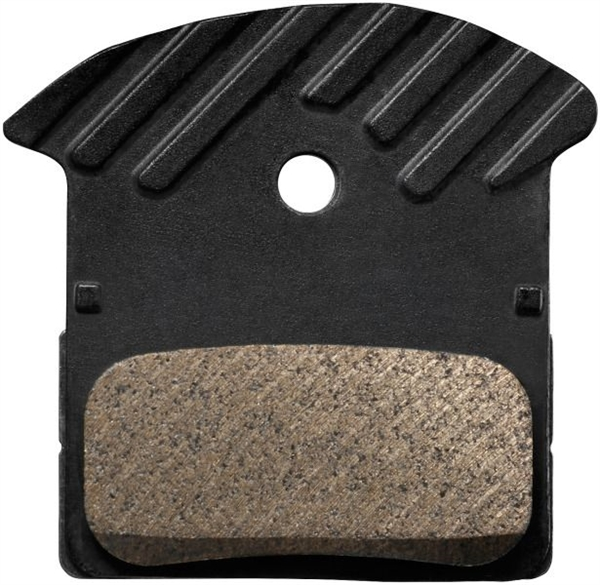 Shimano Disc Brakepad J02A Resin with cooling rips for XTR XTR M9000 and XT M8000