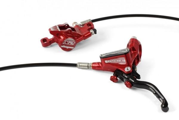Hope Tech3 X2 Disc Brake RW red