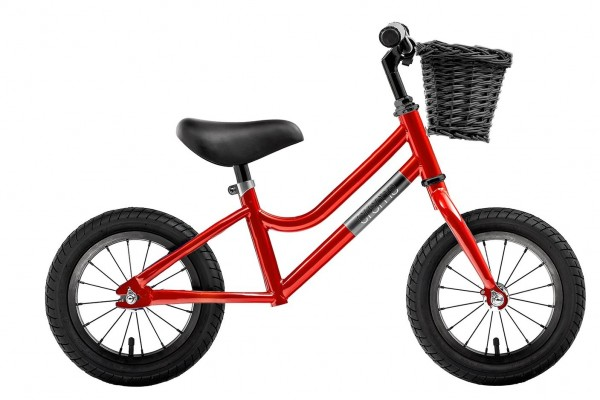 """Creme Cycles Micky 12"""" Push-Bike red speed"""