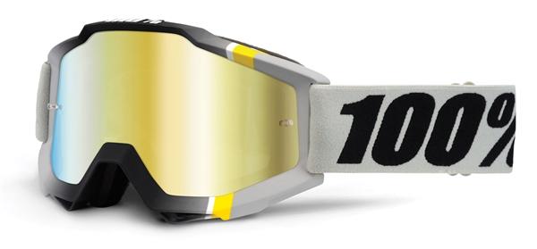 100% Accuri Goggle primer crystal - verspiegelt