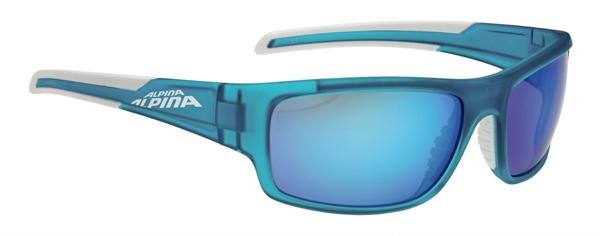 Alpina Testido glasses blue matt-white