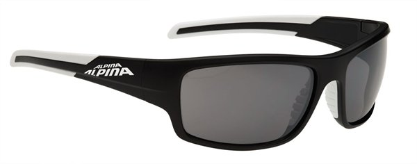Alpina Testido Brille black matt-white