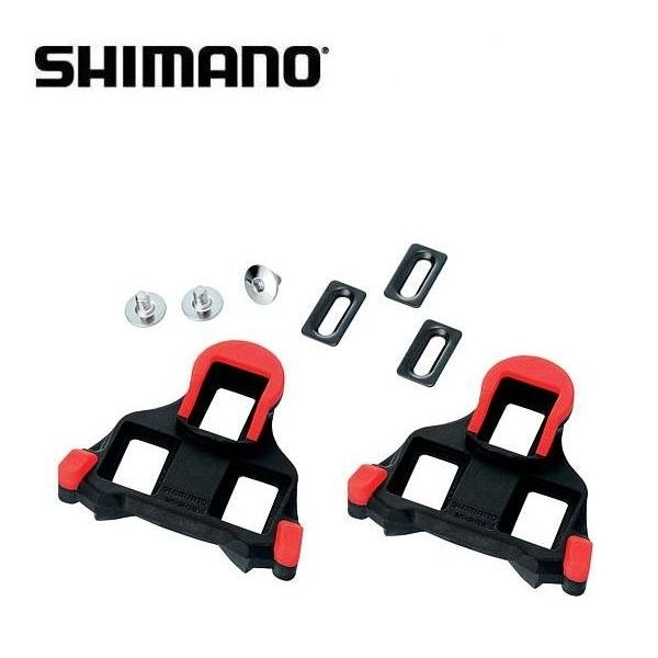 Shimano SPD-SL SM-SH10 Pedalplatten rot