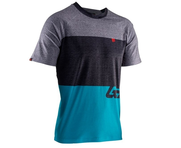 Leatt DBX 2.0 Jersey Short Sleeve blue