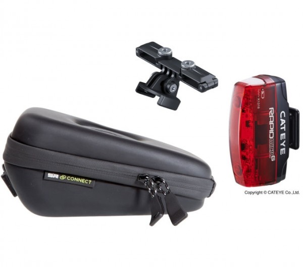 SP Saddle Case Set incl. Cateye adapter