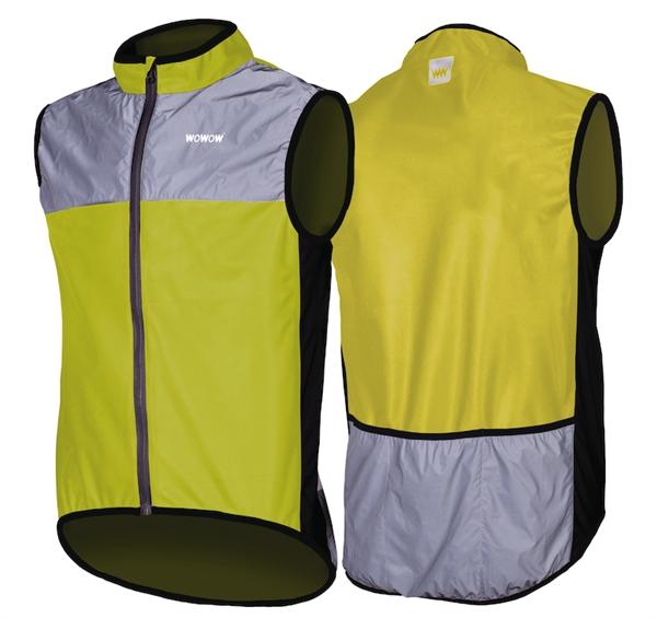 Wowow Reflexweste Dark Jacket 1.1 gelb