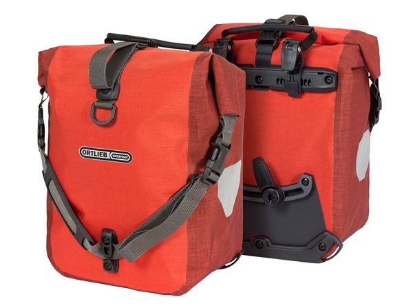 Ortlieb Sport-Packer Plus QL2.1 signal red-dark chili