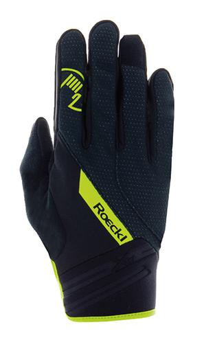 Roeckl Renon Bike Weatherproof Gloves black/yellow