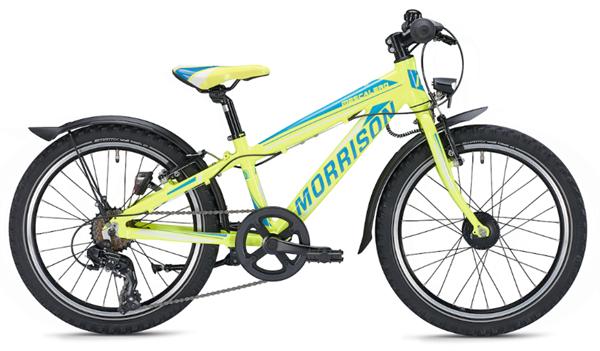Morrison Mescalero S20 20 inch Diamant yellow/blue Kids Bike