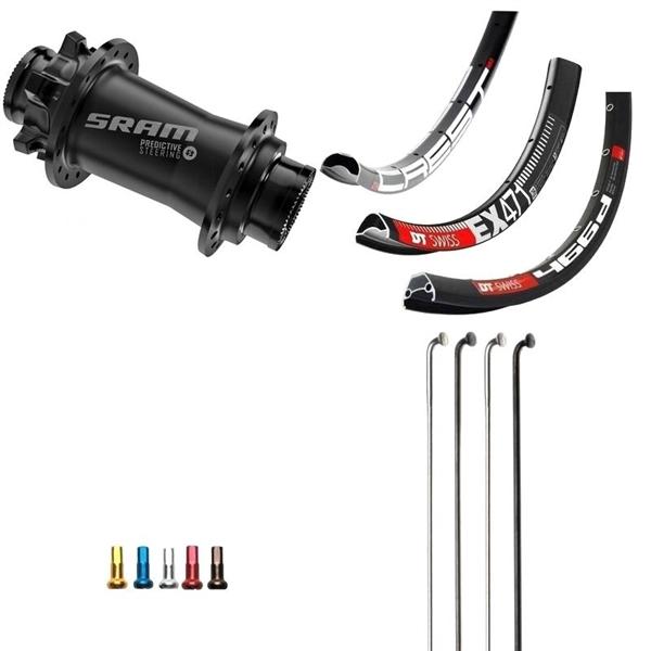 SRAM Predictive Steering Disc IS Custom Front Wheel MTB 29er