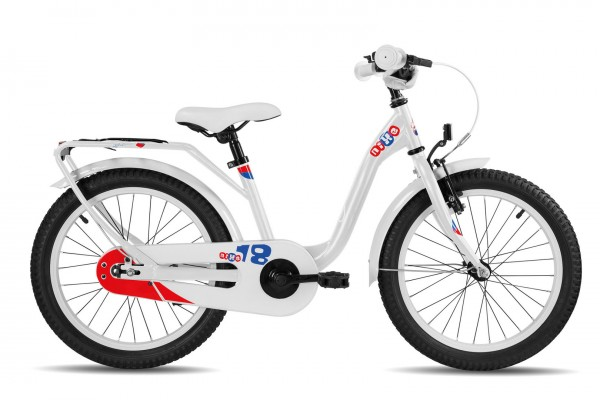 S´COOL niXe 18 Stahl 1-Gang white/blue/red