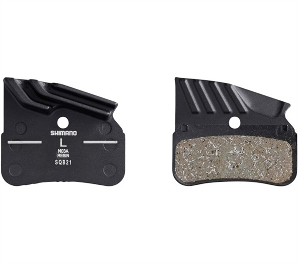 Shimano Disc Brake Pad Ice-Tech NO3A Resinl with cooling fins