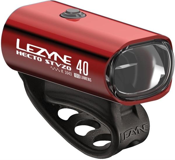 Lezyne LED Hecto Drive 40 StVZO Vorderlicht Rot
