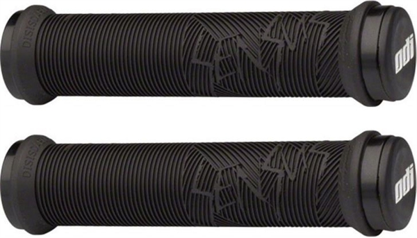 ODI MTB grips Sensus Disisdaboss Lock-On 2.1 silver clamping rings