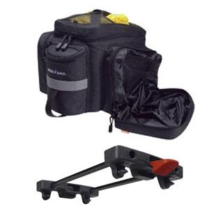 Rixen & Kaul KLICKfix Rackpack 2 Plus Tasche schwarz (für Racktime Gepäckträger)