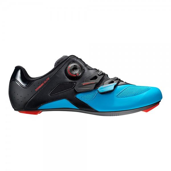 Mavic Cosmic Elite ROAD Schuh schwarz/dresden blau/fiery red