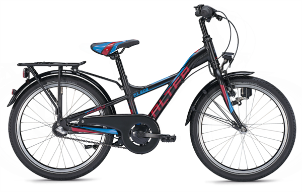 Falter FX 203 20 inch Y-Lite black/red Kids Bike