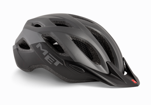 Met Crossover MTB Helm Gray/Black