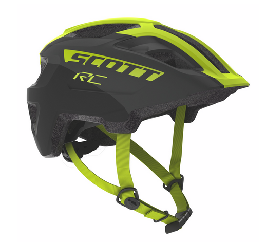 Scott Spunto Junior Helm black/yellow RC