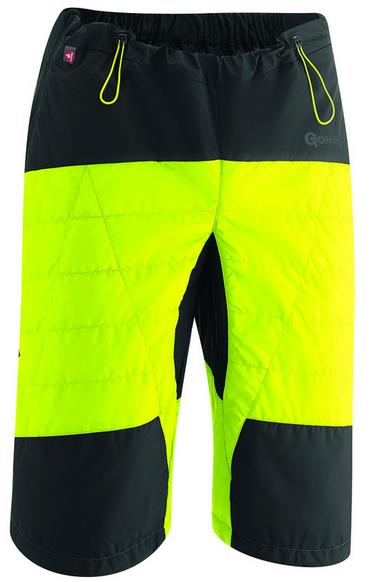 Gonso Moata Men's Primaloft Shorts safety yellow