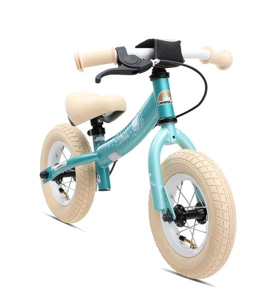 Bikestar Sicherheits-Kinderlaufrad Sport 10 Zoll türkis bird