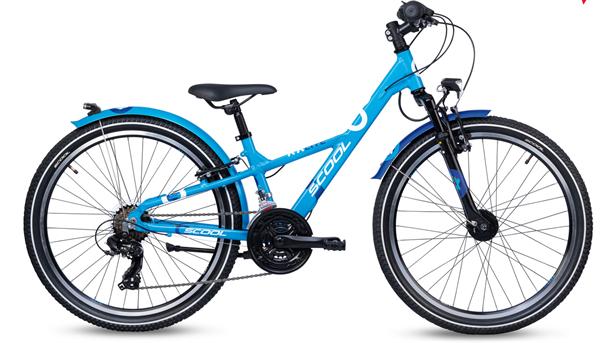 S´COOL XXLite 24 alloy 21-speed blue/deepblue
