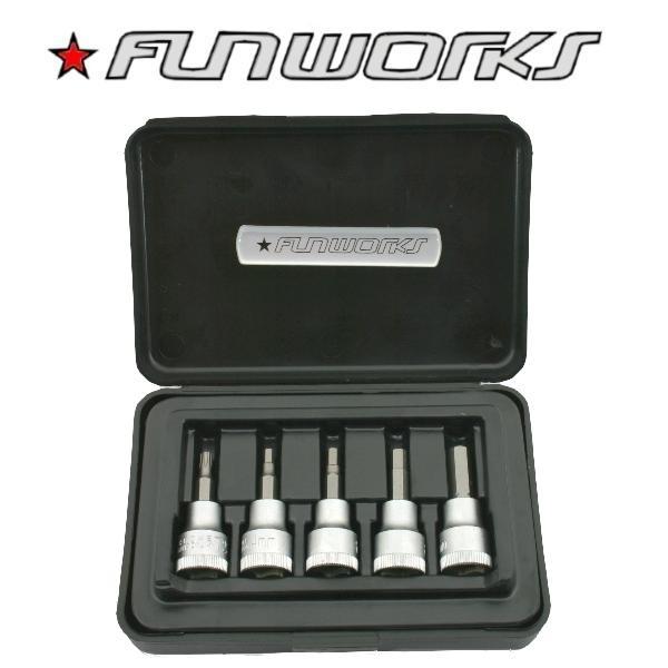 Fun Works Bit-Set 3/8 Zoll