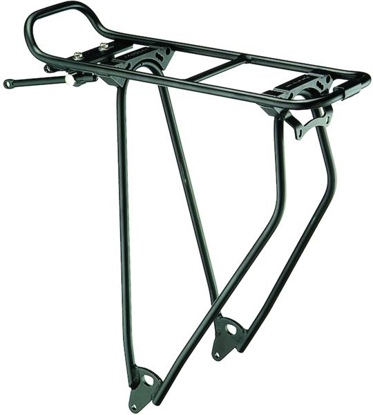 "Racktime luggage carrier Standit 28"" black"