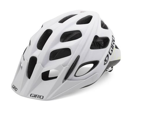 Giro Hex Helm matte white/lime